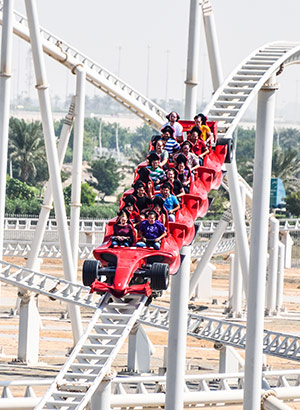 Doen Abu Dhabi Ferrari World