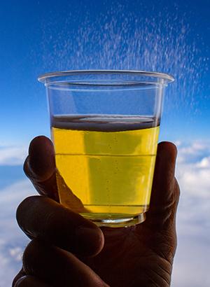 Ongeschreven regels vliegen: drinken