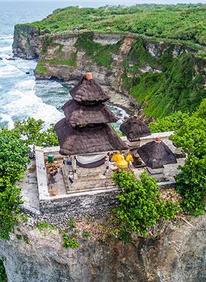 Tempel in Uluwatu, Bali