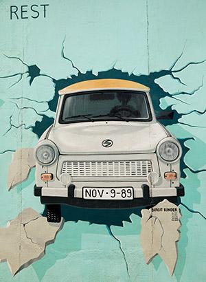 Wijken Berlijn: Friedrichshain, East Side Gallery