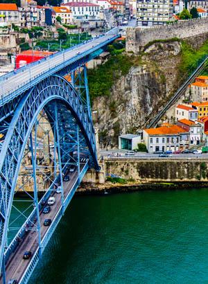Doen in Porto, Ponte Luis I brug