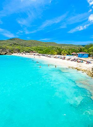 Blote voeten bestemmingen: Curaçao