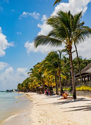 Blote voeten bestemmingen: Mauritius