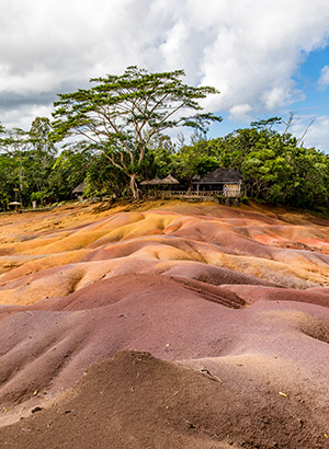 Mauritius met kinderen: Seven Coloured Earth
