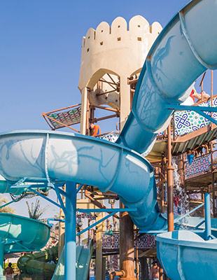 Favoriete waterparken: Yas waterpark