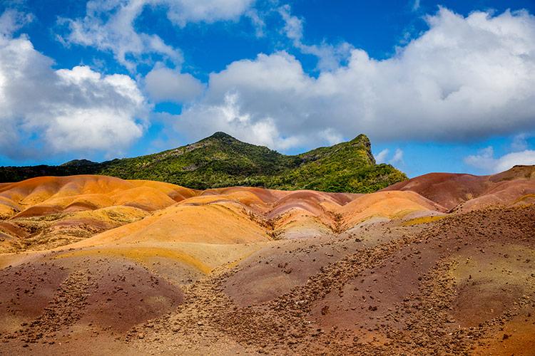 Seven Coloured Earth, bijzonder natuurfenomeen op Mauritius