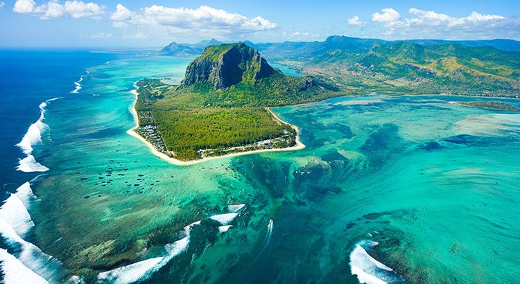 Zonnige zuiden Mauritius