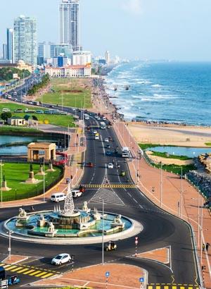 Badplaatsen Sri Lanka - Colombo
