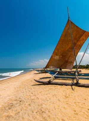 Badplaatsen Sri Lanka - Negombo