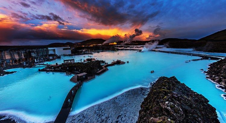Mooiste blauwe Blue Lagoons ter wereld