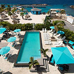 Leukste badplaatsen Curaçao: Mambo Beach, The Beach House