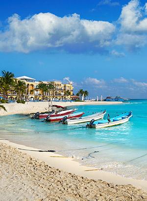 Leukste badplaatsen Mexico: Playa del Carmen