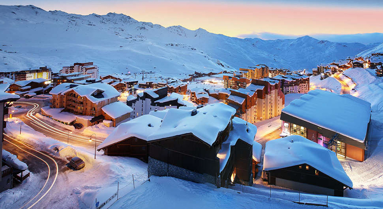 Luxe wintersport hotels