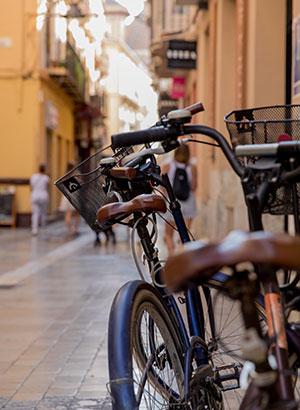 Málaga met kinderen: fietsen