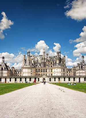 Mooiste kastelen Europa: Chateau Chambord