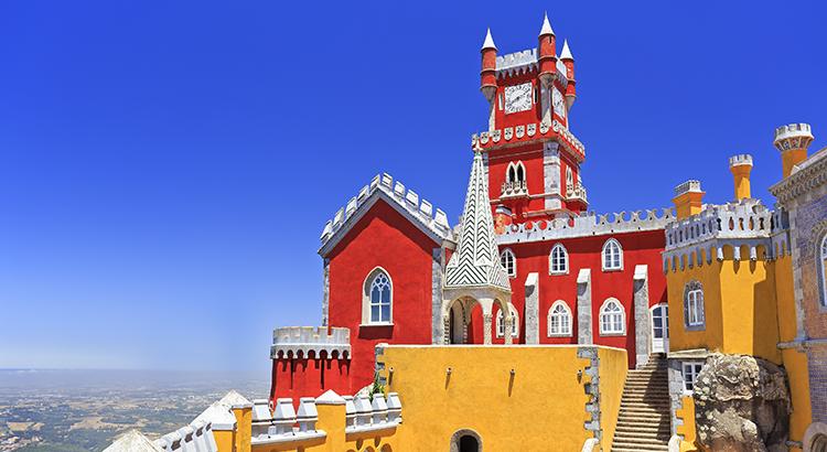 Mooiste kastelen Europa