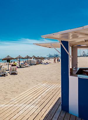 Stadsdelen en wijken Valencia: Cabanyal & strand