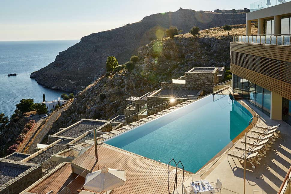 Leukste badplaatsen Rhodos, Lindos Blu Luxury Hotel & Suites