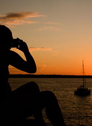 Bezienswaardigheden Oia, Santorini: zonsondergang