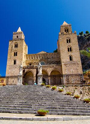 Charmant Cefalù, Sicilië: kathedraal