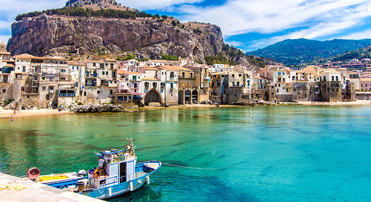 Charmant Cefalù, Sicilië