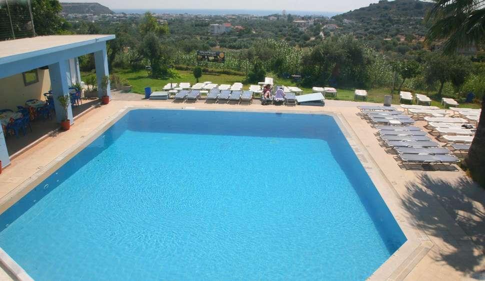 Leukste badplaatsen Rhodos, Hillside Studios & Appartementen