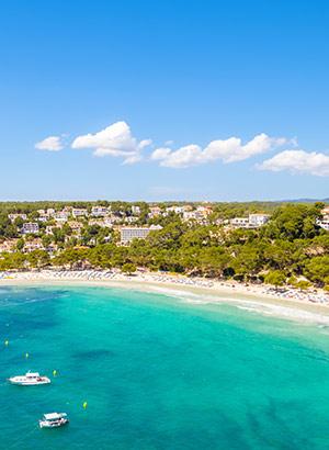 Menorca met kinderen: strand
