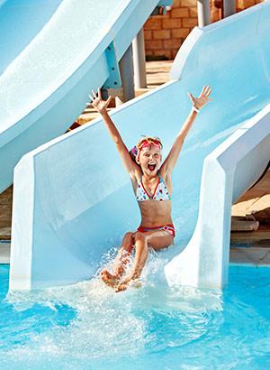 Menorca met kinderen: waterpark
