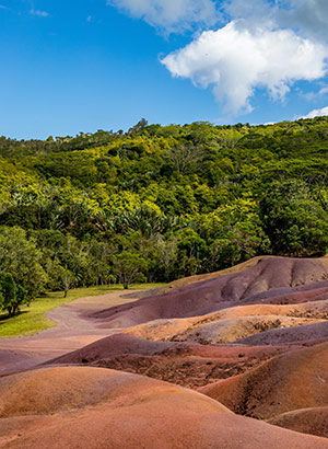 Romantisch Mauritius: Seven Coloured Earth