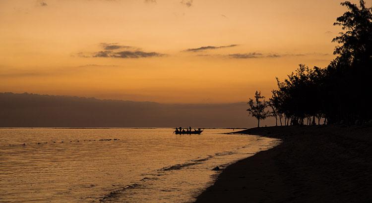 Romantisch Mauritius