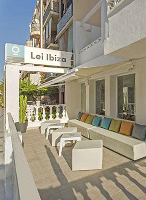 Betaalbare hotels Ibiza: Lei IBZ Playasol