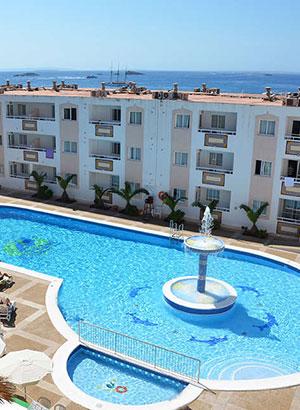 Betaalbare hotels Ibiza: Tropical Garden Aparthotel