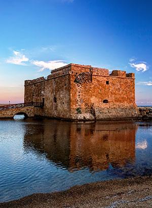 Bezienswaardigheden Paphos (Cyprus): kasteel