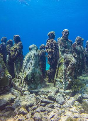 Bijzondere musea ter wereld: onderwatermuseum in Mexico