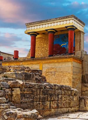 Chersonissos met kinderen, Knossos