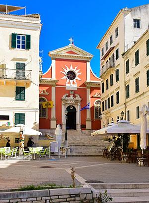 Doen op Corfu: cultuur snuiven in de hoofdstad