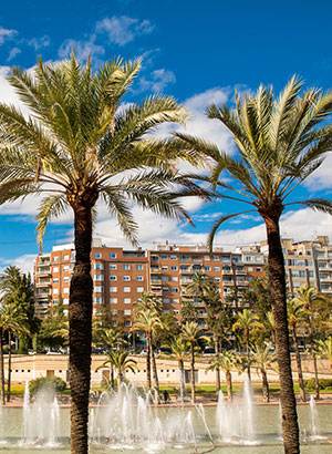 Reisgids Valencia: fietsen in Turiapark