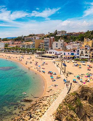 Badplaatsen Costa Brava: Lloret de Mar