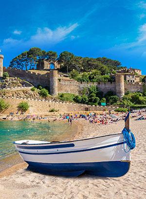 Leukste badplaatsen Costa Brava: Tossa de Mar