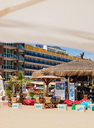 Sunny Beach met kinderen: strand