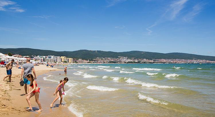 Sunny Beach met kinderen