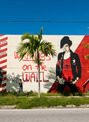 Wynwood Art District, street art in Miami