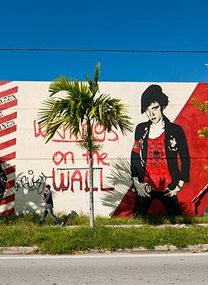 Wynwood Art District, street art in Miami