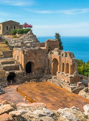 Bezienswaardigheden Taormina, Sicilië