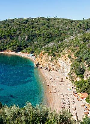 Doen Budva, Montenegro: strandhangen
