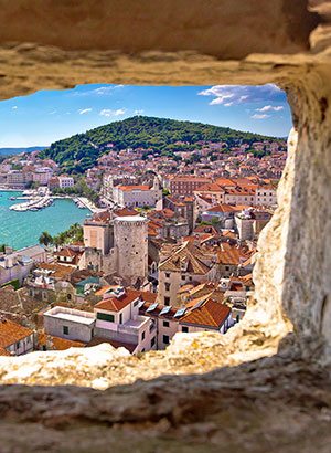 Doen op Hvar, Kroatië: Split