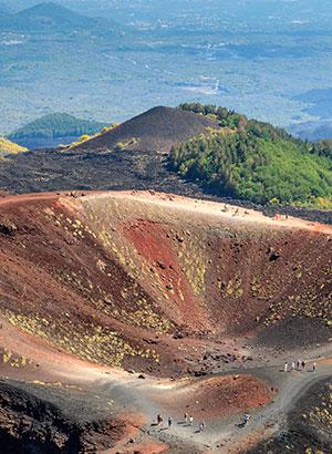Vulkaan Etna, Sicilië