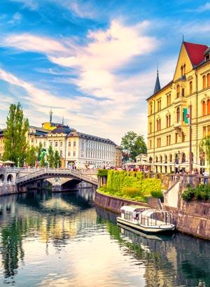 Redenen zonvakantie Slovenië, Ljubljana