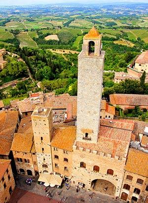 Vakantie-voorpret Toscane
