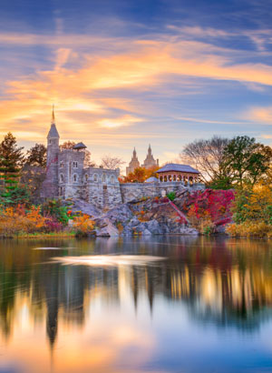 Central Park, New York - Belvedere Castle